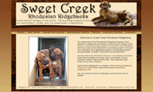 Sweet Creek Rhodesian Ridgebacks